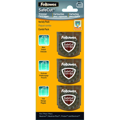 Fellowes SafeCut, 35 x 10 x 35mm Papier-knipper access - Transparant