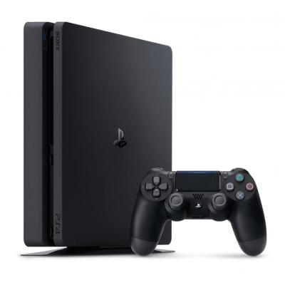 Sony spelcomputer: PS4 1TB D Chassis Black - Zwart