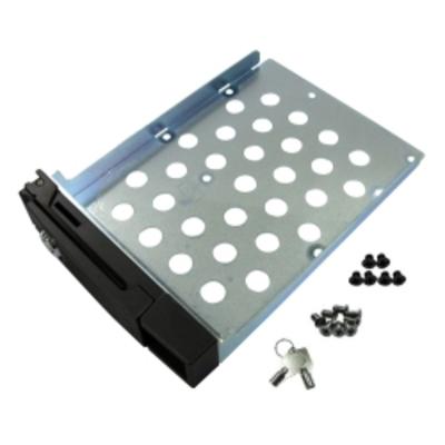 Qnap montagekit: HDD Carrier met keylock in het frontpaneel voor gebruik in TS-serie. Geschikt voor een (1) 3.5-inch of .....