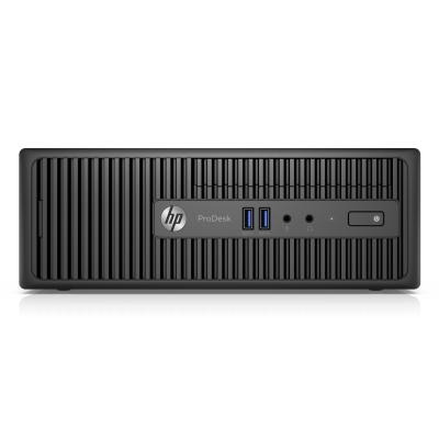 Hp pc: ProDesk 400 G3 SFF i5 256GB - Zwart