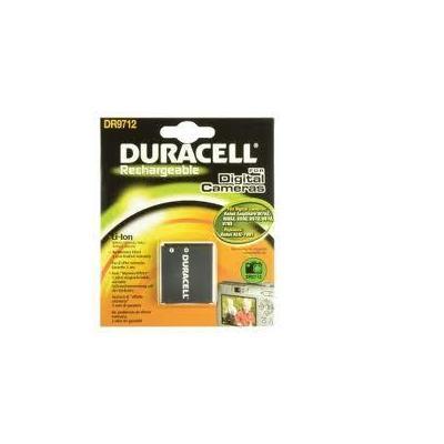 Duracell batterij: Digital Camera Battery 3.7v 700mAh - Zwart