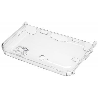 Bigben interactive portable game console case: Bigben transparant polycarbonate Nintendo 3DS XL hoesje