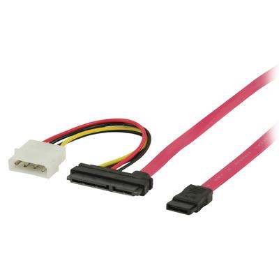 Valueline VLCP73120R10 ATA kabel - Rood