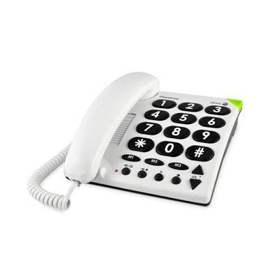 Doro PhoneEasy 311c Dect telefoon - Wit
