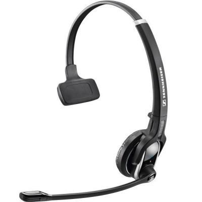 Sennheiser DW Pro 1 Headset - Zwart, Geborsteld staal
