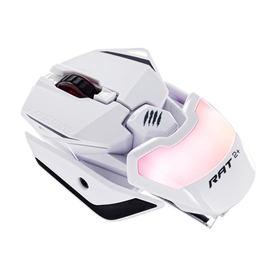 Mad Catz R.A.T. 2+ Computermuis - Wit