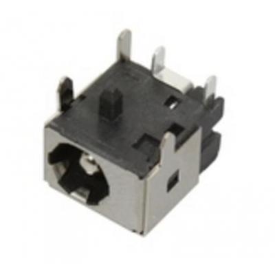 Asus notebook reserve-onderdeel: DC Power Jack, 3 Pin - Zwart, Grijs