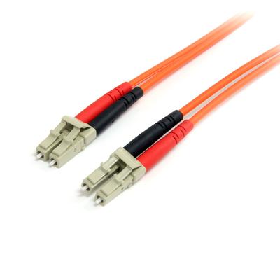 StarTech.com 5m Multimode 62,5/125 Duplex Glasvezel Netwerkkabel LC-LC Fiber optic kabel - Oranje