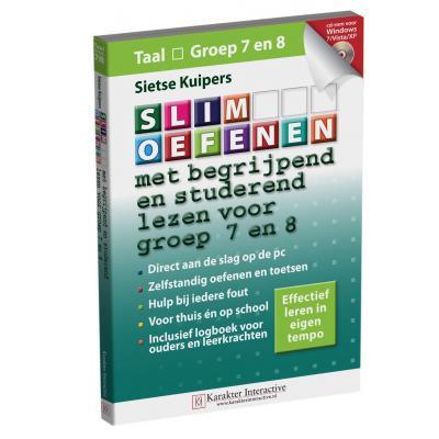 Karakter educatieve software: Slim Oefenen, Met Begrijpend en Studerend Lezen (Groep 7 en 8)