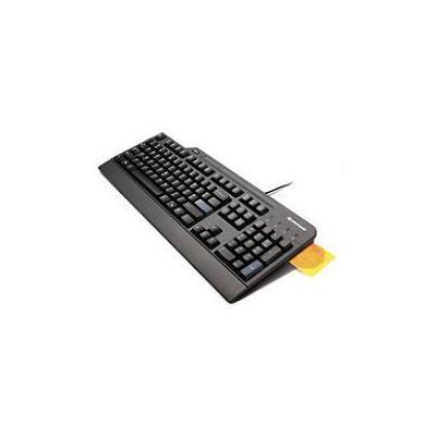 Lenovo toetsenbord: USB Smartcard Keyboard - Dutch - Zwart