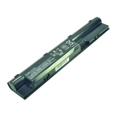 2-power batterij: Main Battery Pack 10.8V 5200mAh HP ProBook 440 G0 - Zwart
