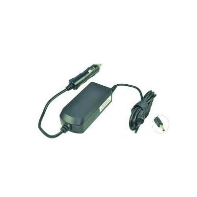 2-power netvoeding: DC Car Adapter 19V 3.42A 65W - Zwart