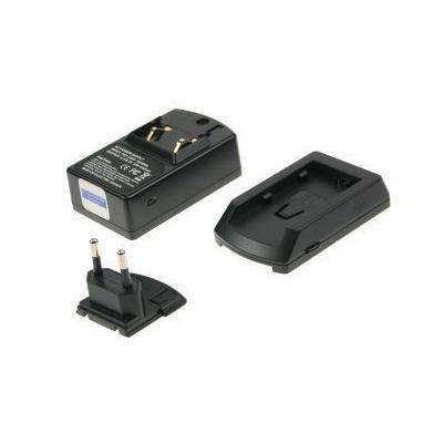 2-power oplader: Camcorder Charger, 230V AC, Black - Zwart
