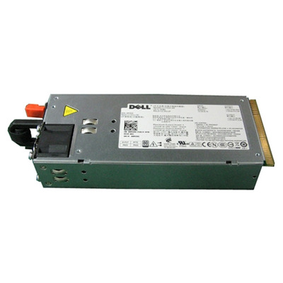 Dell power supply unit: 1100 watt voeding éénmalig hot-pluggable - Zwart, Zilver