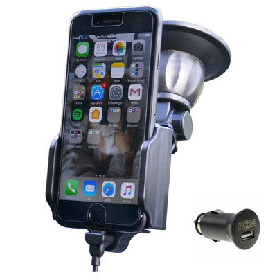 Kram Telecom Fix2Car Houder - Zwart