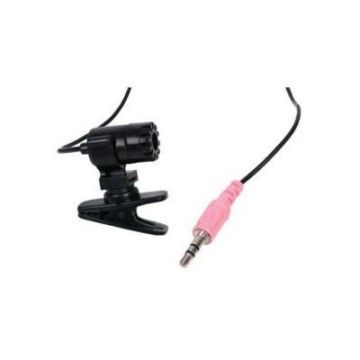 König microfoon: 30 - 15000 Hz, 3.5mm - Zwart
