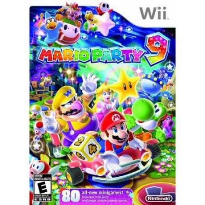 Nintendo game: Mario Party 9