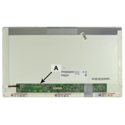 """2-power notebook reserve-onderdeel: 43.942 cm (17.3 """") HD+ 1600x900 LED Matte - Zwart"""