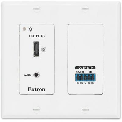 Extron : DTP HDMI 4K 230 D Rx - Wit