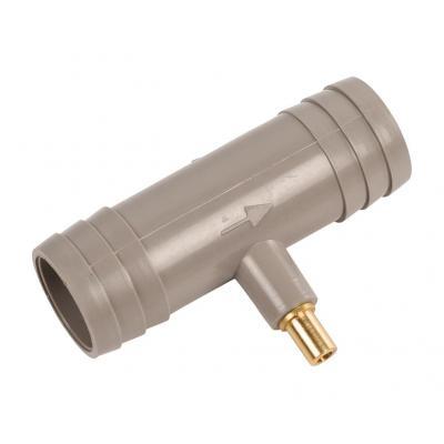 Hq keuken & huishoudelijke accessoire: Air valve for outlet hose 19 - 22 mm - 19 - 22 mm - Grijs