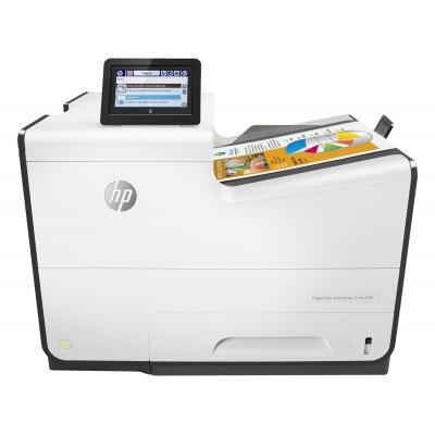 HP inkjet printer: PageWide Enterprise Color 556dn - Zwart, Cyaan, Magenta, Geel (Demo model)