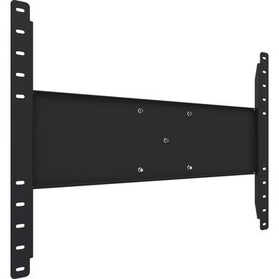 SmartMetals Verhuurbracket max VESA 800-600 met 3-puntskoppeling TV standaard - Zwart
