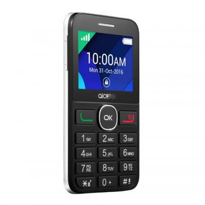 Alcatel mobiele telefoon: 20.08G - Zwart, Wit