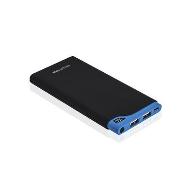 RealPower PB-10000S Powerbank - Zwart,Blauw