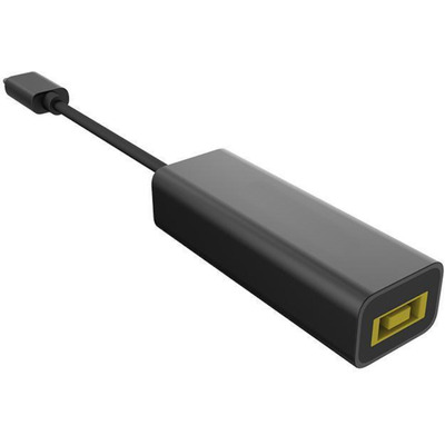 Microconnect USB C to Square Lenovo Plug Kabel adapter - Zwart