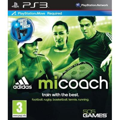 505 games game: Special Price - Adidas MiCoach (Move)  PS3