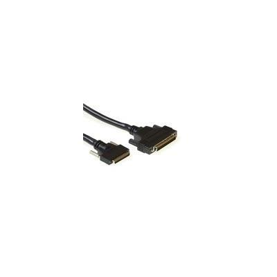 Advanced cable technology SCSI kabel: External SCSI connection cable 1.8 m - Zwart