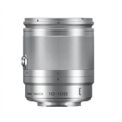 Nikon camera lens: 1 NIKKOR 10-100mm f/4.0-5.6 VR - Zilver