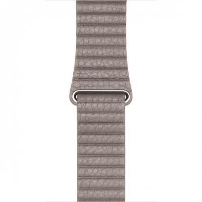 Apple : Watch 42mm, Rookgrijs, Large