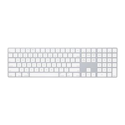 Apple Magic Keyboard met numeriek toetsenblok - Internationaal Engels - QWERTY Toetsenbord - Wit