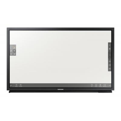 "Samsung public display: FHD Large Format Display 82"" DM82E-BR - Zwart"