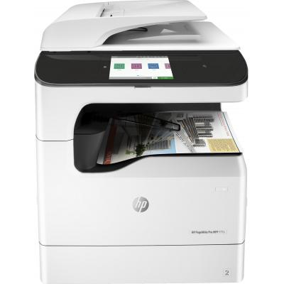 Hp multifunctional: PageWide Pro 777z multifunctionele printer - Zwart, Cyaan, Magenta, Geel