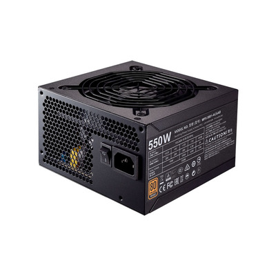 Cooler Master MWE Bronze 550 Power supply unit - Zwart