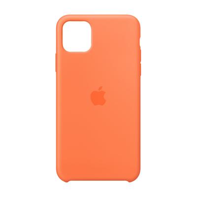 Apple Siliconenhoesje voor iPhone 11 Pro Max - Vitamine C Mobile phone case - Oranje