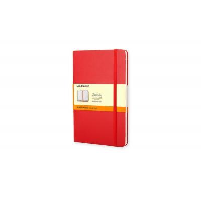 Moleskine schrijfblok: Ruled Red Notebook - Pocket - Rood