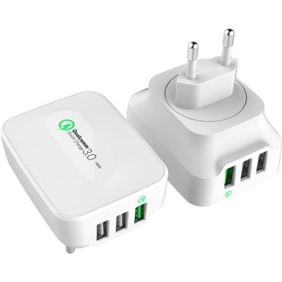 Realtron batterij: RealPower 3-Port USB Wall Charger QC 3.0