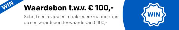Schrijf een productreview en maak iedere maand kans op een waardebon t.w.v. €100,-