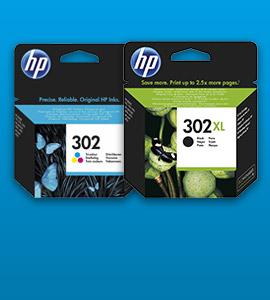 HP inkt 302