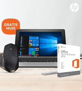 HP 2-in-1 + Office & GRATIS Logitech muis t.w.v. 99,-