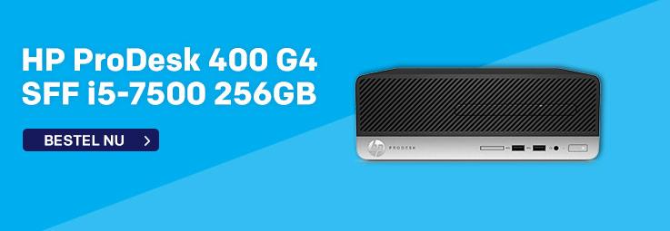 HP ProDesk 400 G4 SFF i5-7500 256GB