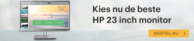 HP EliteDisplay E202 - 20 inch monitor