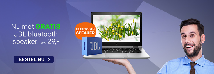 GRATIS JBL speaker bij laptops en pc's