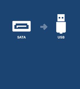 SATA naar USB
