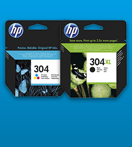 HP inkt 304