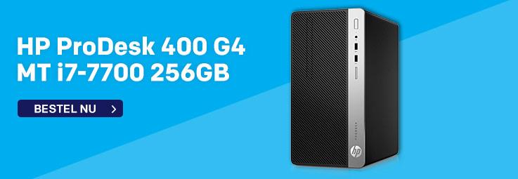 HP ProDesk 400 G4 MT i7-7700 256GB