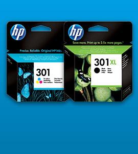 HP inkt 301